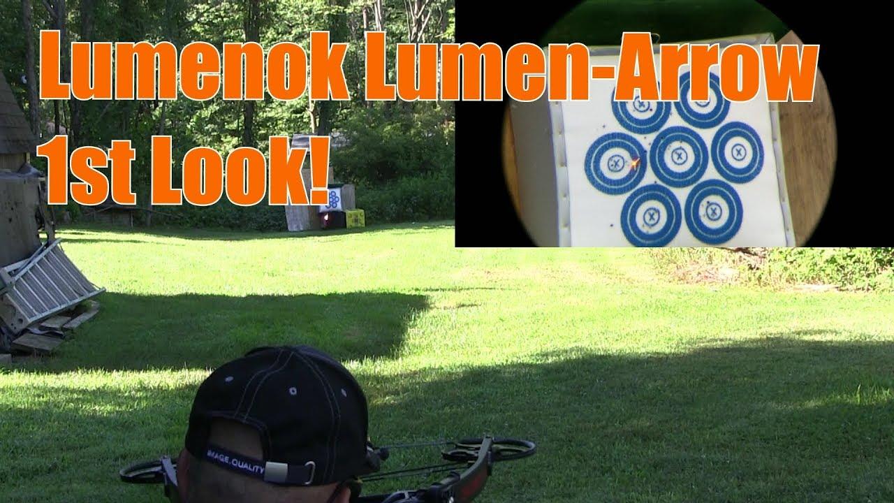Sightmark Scope Lumenok 22 Arrow with HD Orange Capture Nock 50 Yards