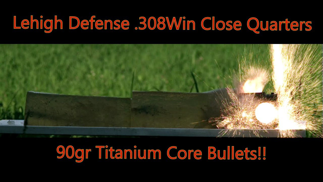 Lehigh Defense  308WIN Close Quarters Aluminum and Titanium