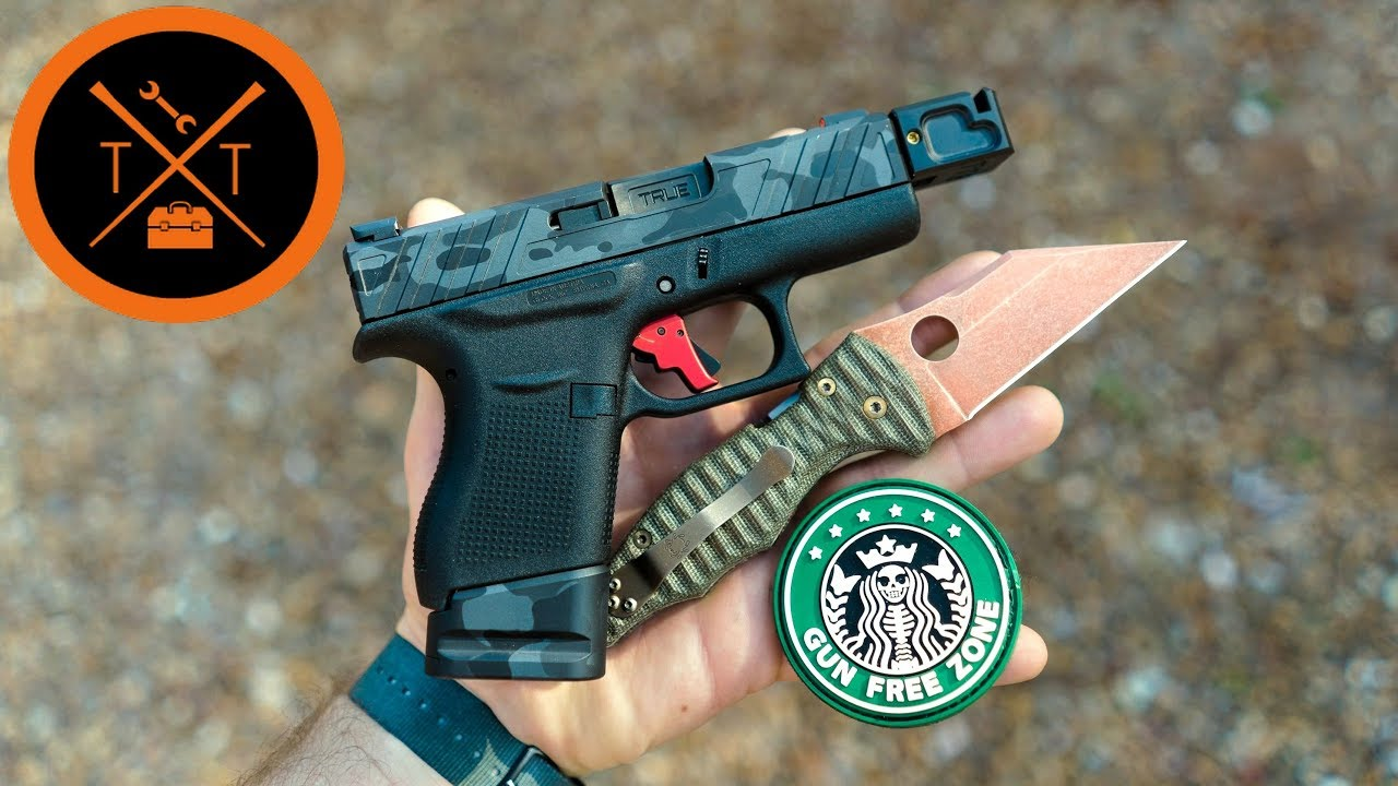 Is The Custom Glock 43 Worth It for Concealed Carry?? (w/Links & Codes)
