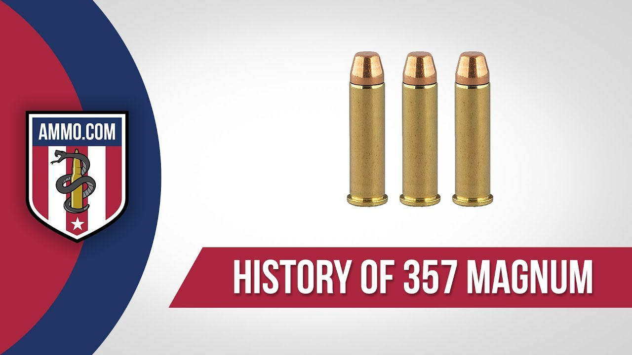 357 Magnum Ammo - History