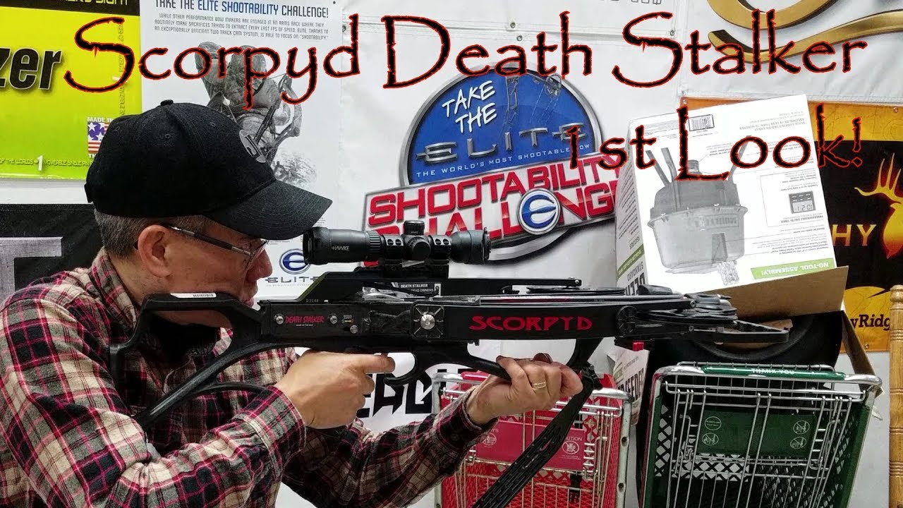 AP2020 Outdoors 1st Look at The Scorpyd DS Crossbow