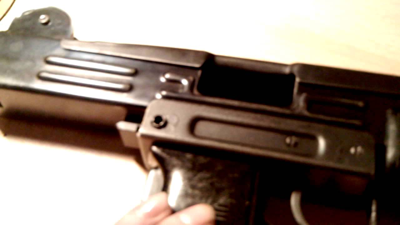 uzi 9mm rear sight part one disassembly