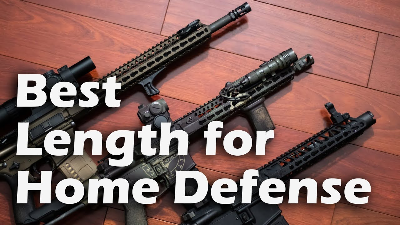 Best Barrel Length for Home Defense