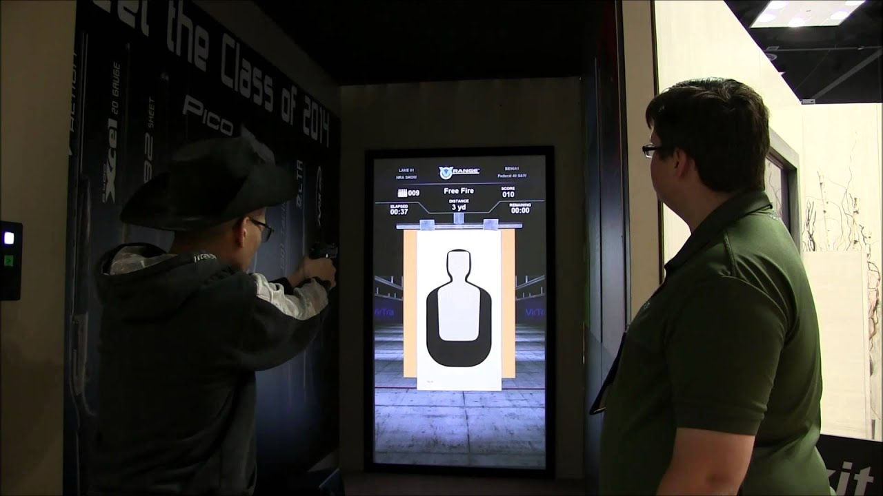 2014 National Rifle Association Annual Meetings and Exhibits Beretta Pistol Simulator