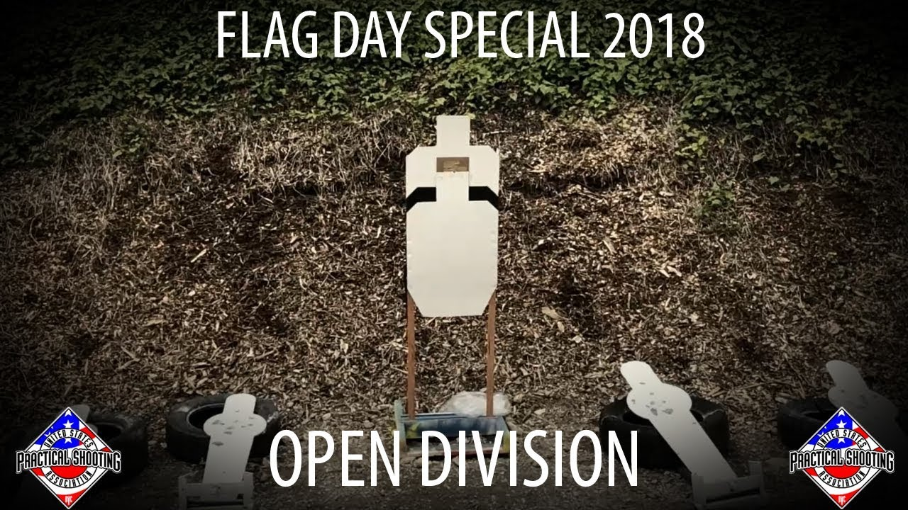 USPSA Flag Day Special - Open Division