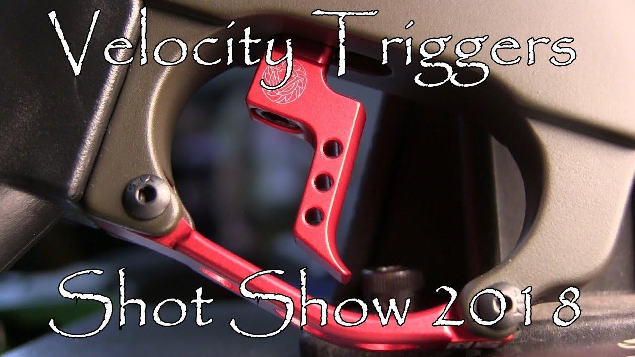 Shot Show 2018 Velocity Triggers
