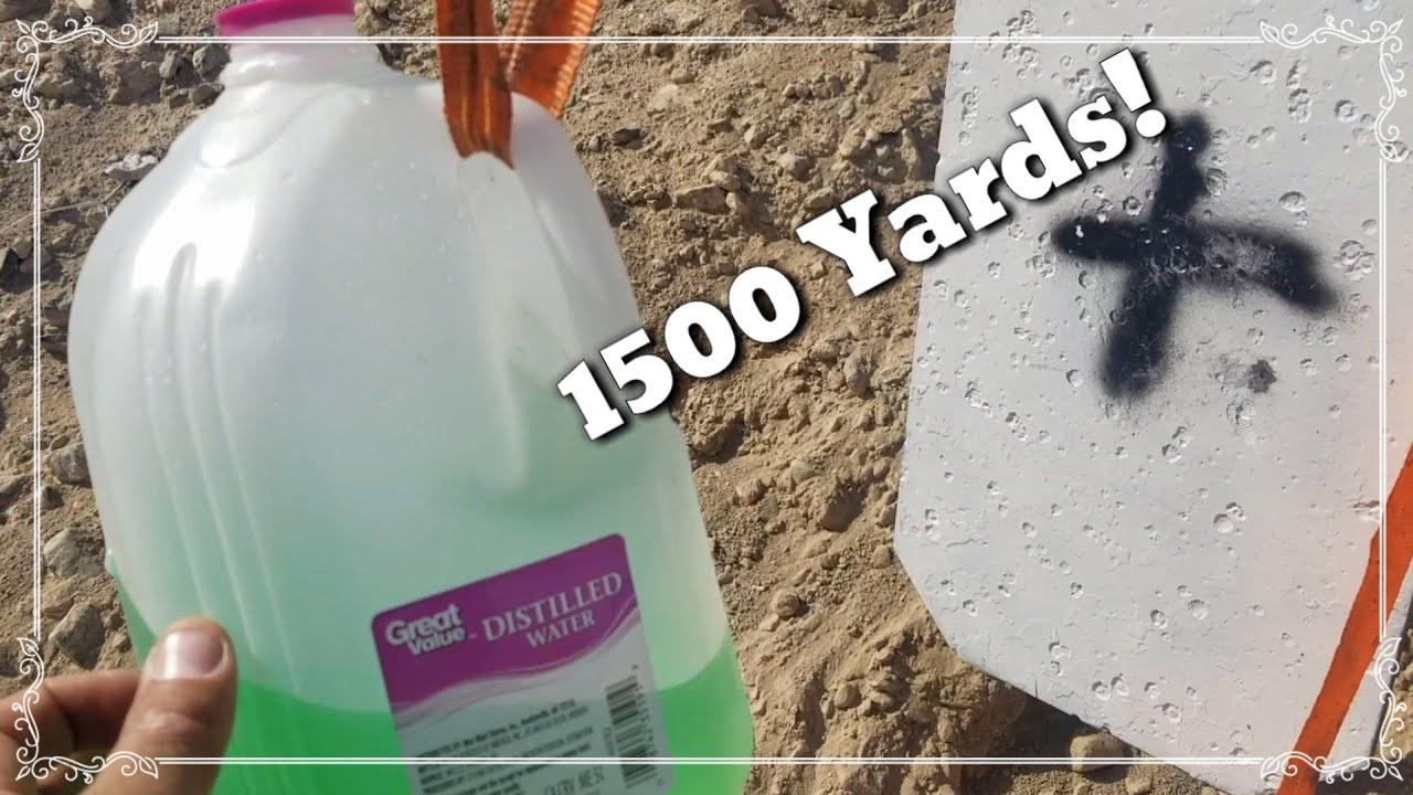 Savage 110 Tactical 6.5 Creedmoor- 1500 Yards - Milk Jug Challenge - 140 ELD H4350
