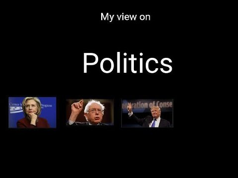 My view on politics  sort of (or lack there of)