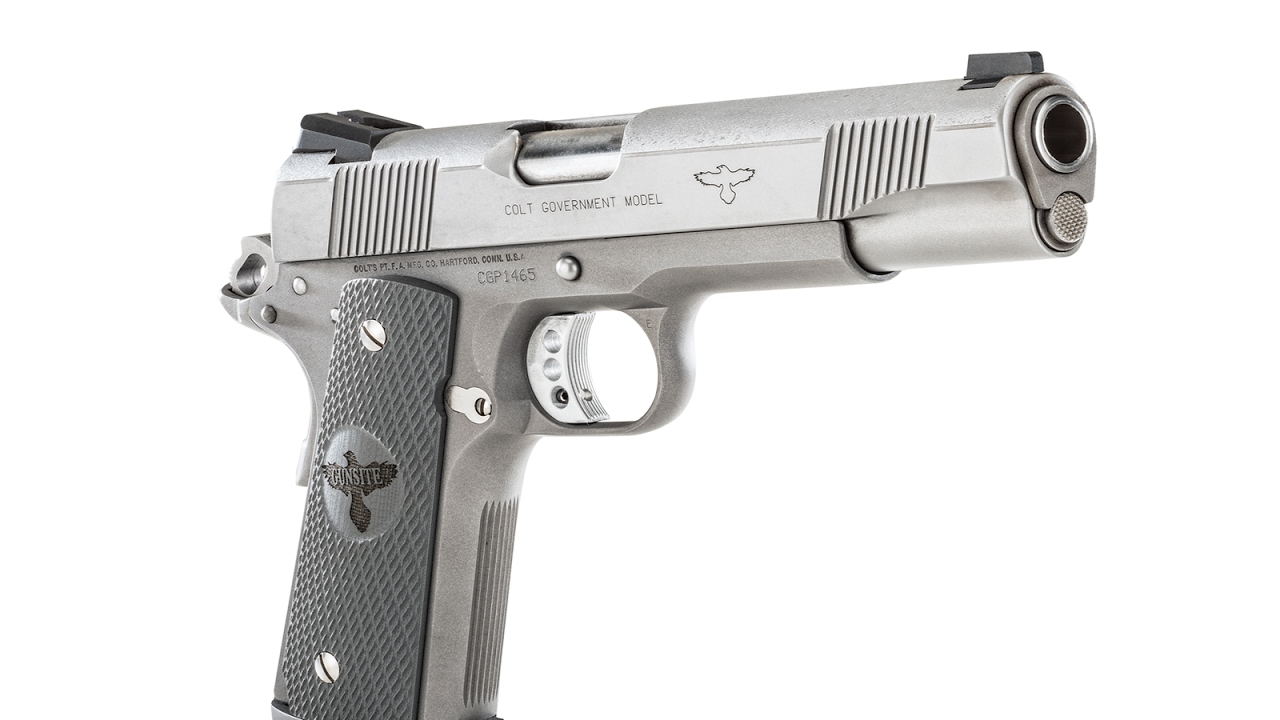 Colt Gunsite 1911 Pistol Part 2 #131
