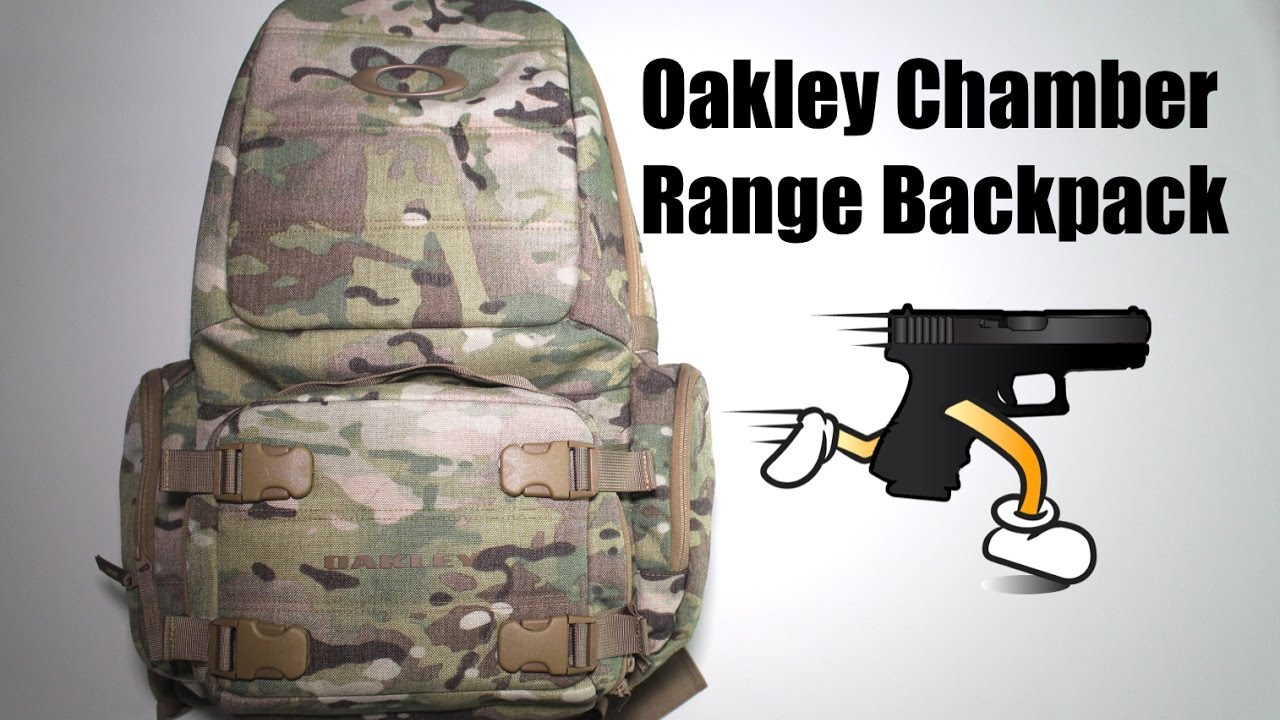 Bullet Proof Backpack- Oakley Chamber Range Bag Review