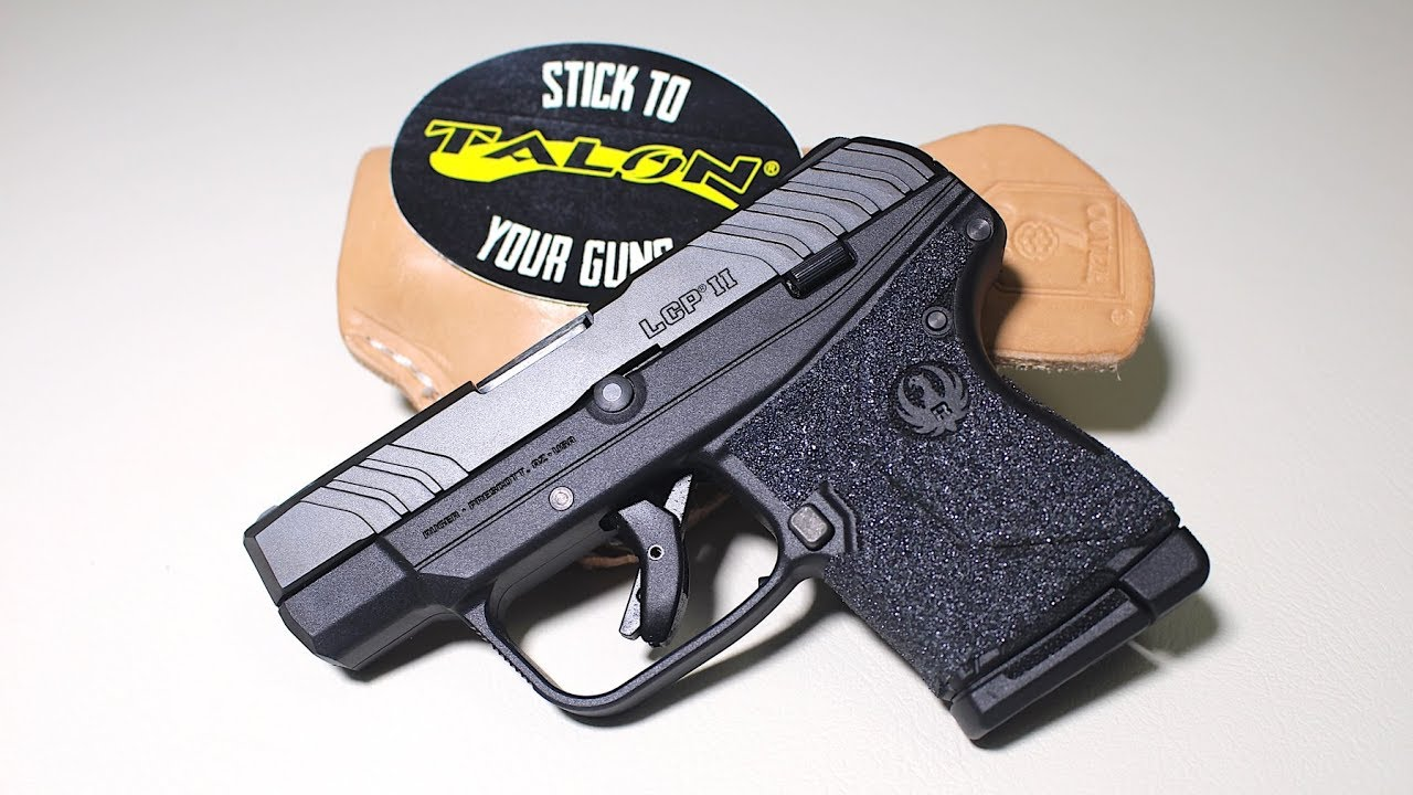 Install Talon Grips on Ruger LCP II + GIVEAWAY