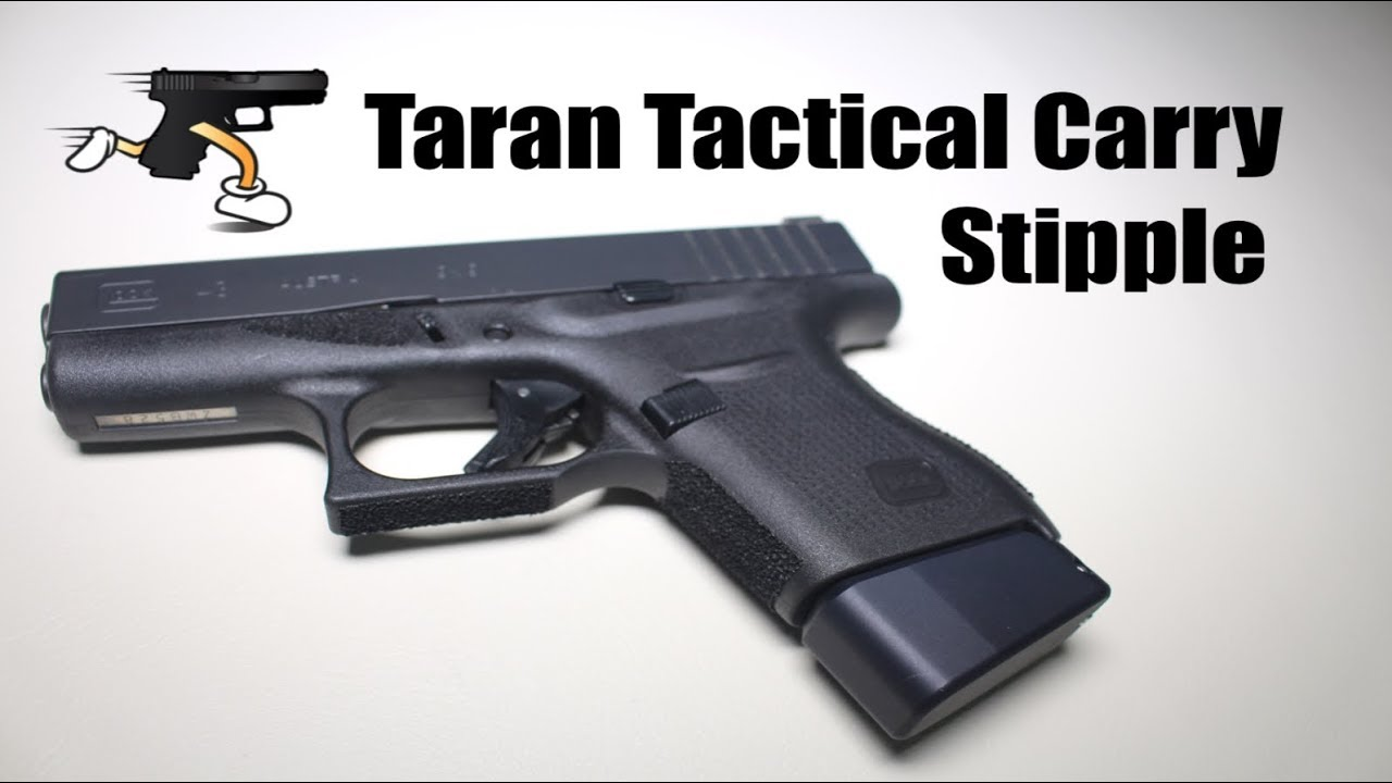 Taran Tactical Carry Stipple on Glock 43