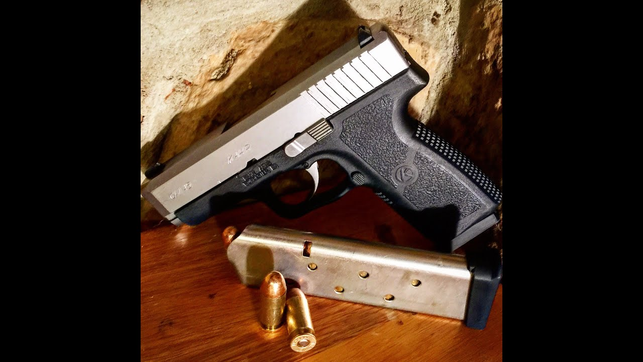 The GunFather: Firearms Friday -**Kahr CW45 Review with 1911 Comparison**