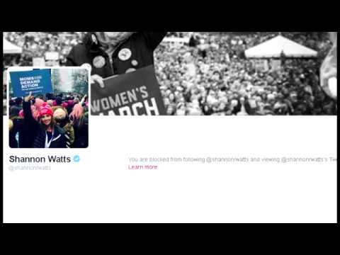 You know you're winning when shannon watts blocks you #gunrights #2A