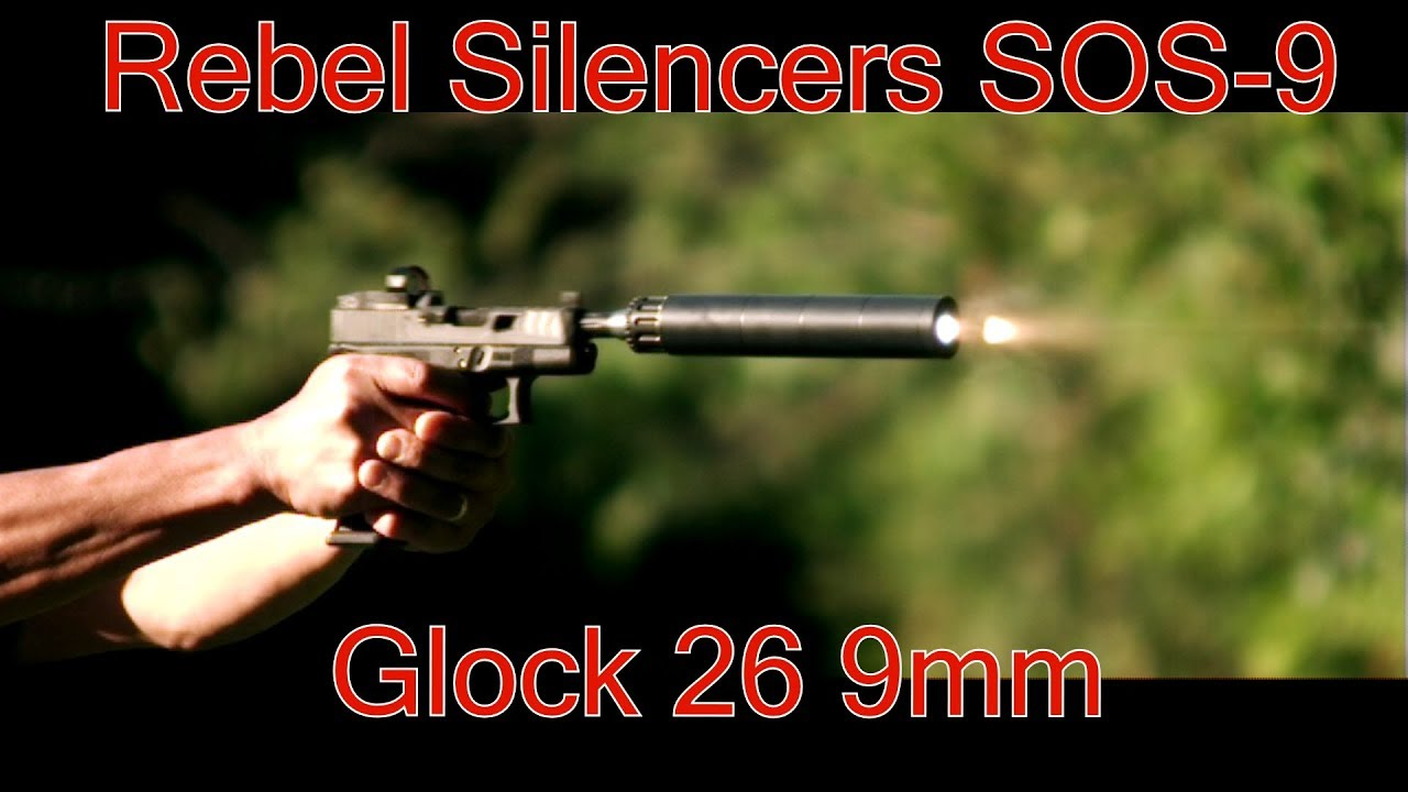 Rebel Silencers SOS 9 Suppressor Glock 26 Vortex Venom Lehigh Defense Badman