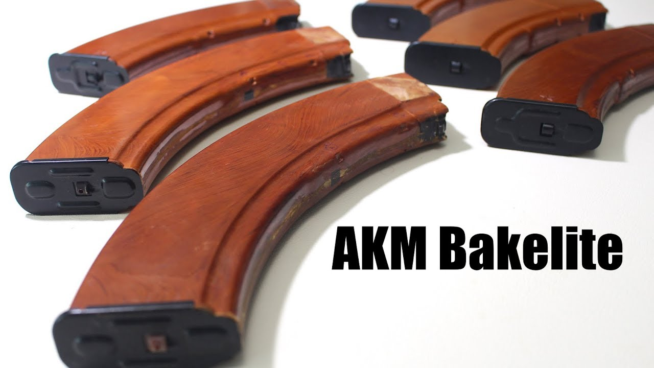 Russian Bakelite AK Magazines
