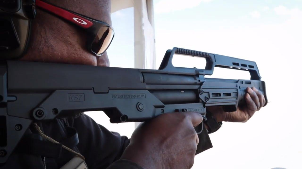 Kel-Tec KS7 Shotgun // Kel-Tec CP33 22LR Pistol // SHOT Show 2019