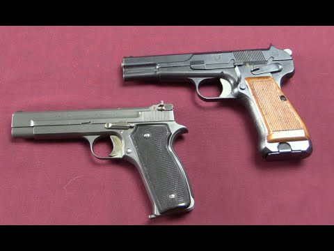 Swiss Prototype Pistols: P44/8 and W+F Bern P43