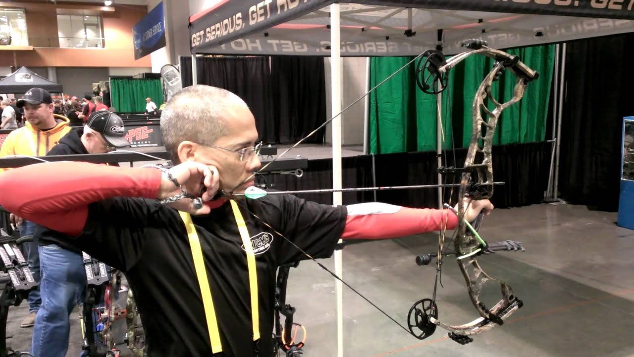 2014 ATA Show Archery Trade Association Show Hoyt Faktor Bow Part I