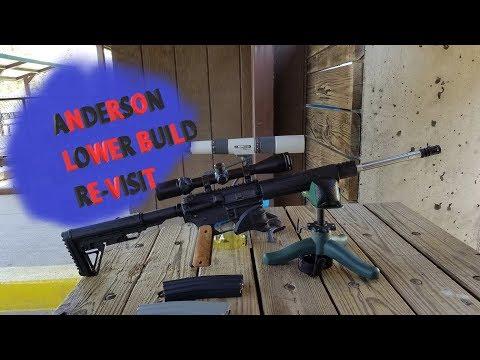 Anderson Lower AR-15 Frankenbuild Rifle Re-Visit