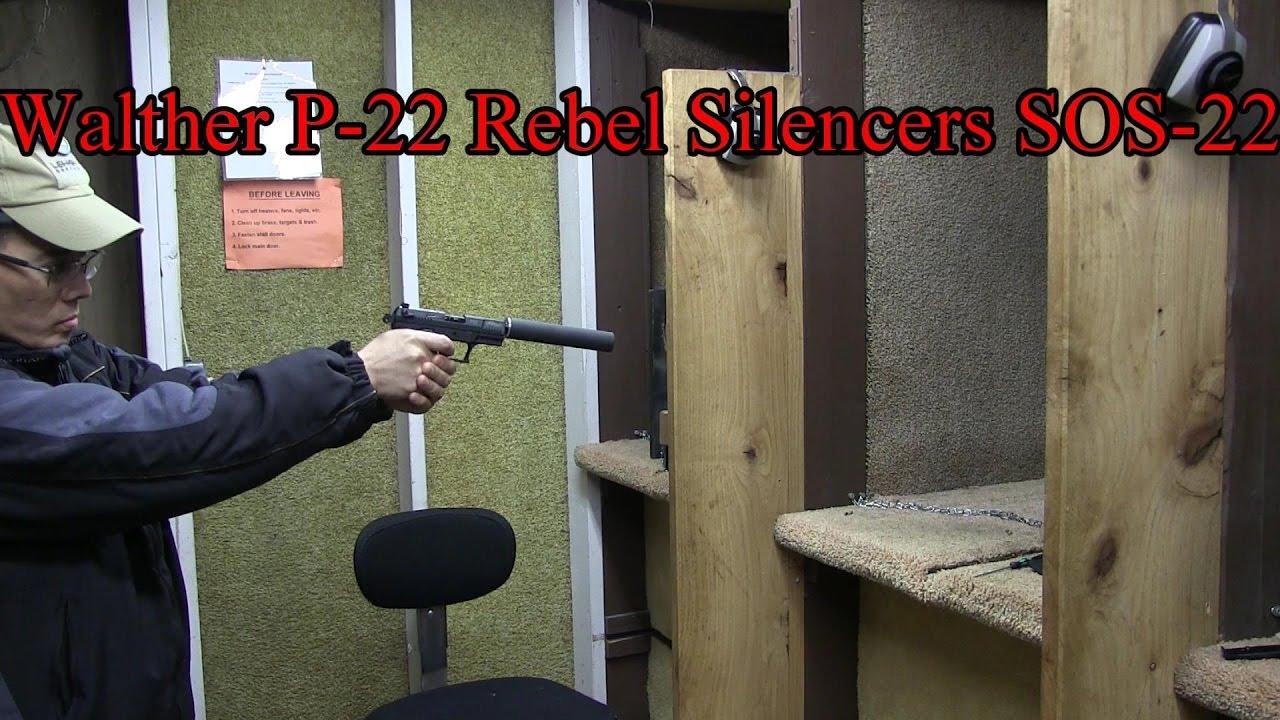 Ultimate Suppressor Championship 1 Rebel Silencer SOS-22  SilencerCo Sparrow Hearing Protection Act