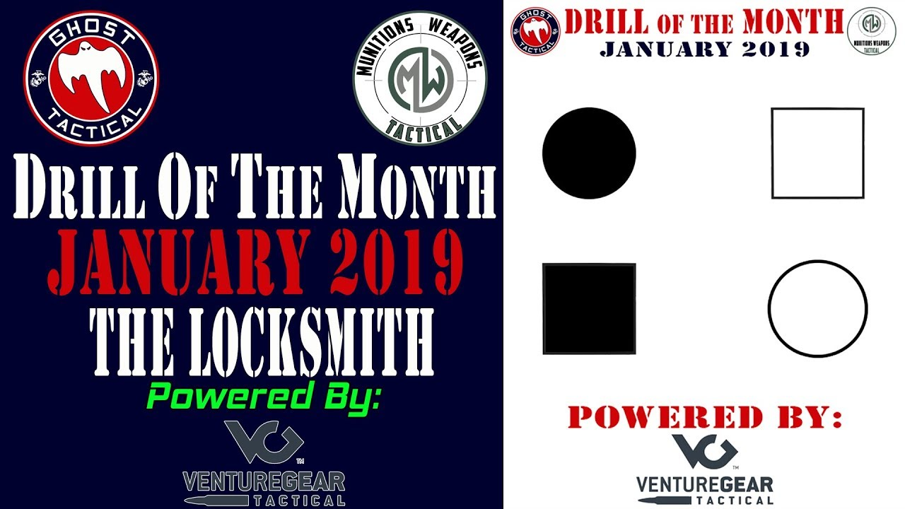 Ghost Tactical Drill of the Month:  January 2019: