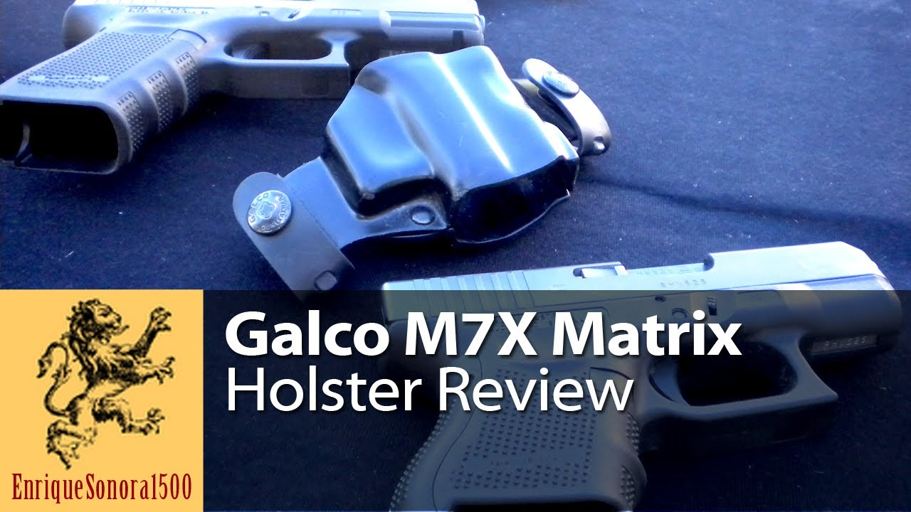 Galco M7X Matrix Holster Review