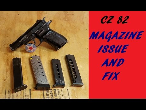 CZ 82 MAGIZINE ISSUE AND FIX