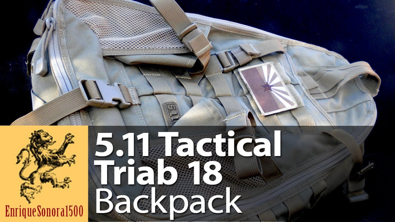5.11 Tactical Triab 18 Backpack Slingbag Review
