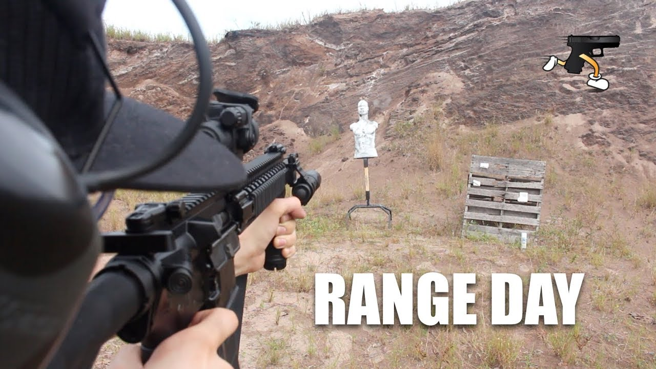 Range Day- Rubber Dummies, Steel, and Glock 19 Malfunction