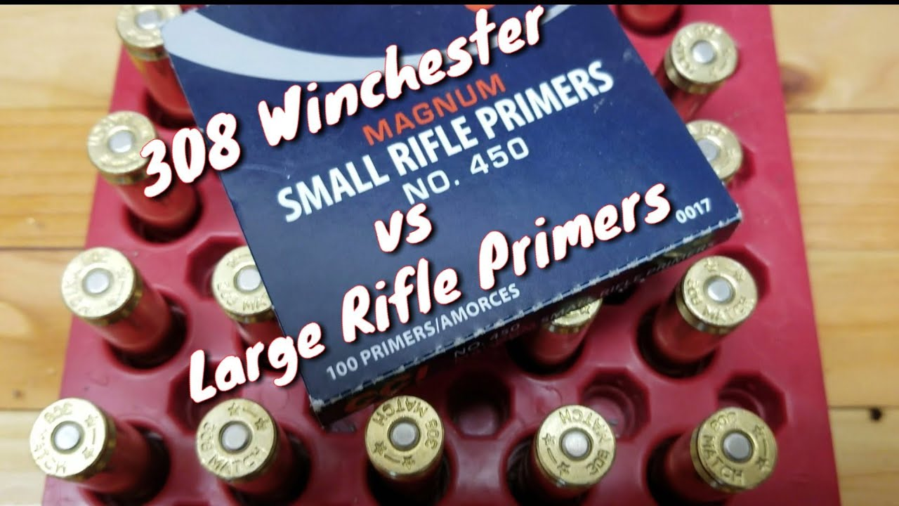 .308 Win - Starline Small Rifle Primed Brass vs Large Rifle - Satterlee Testing H4895