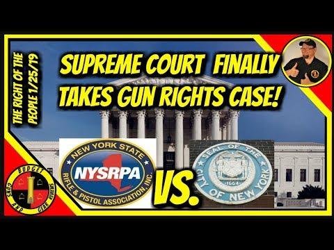 Supreme Court To Hear Gun Rights Case! Illinois Dems Launch
