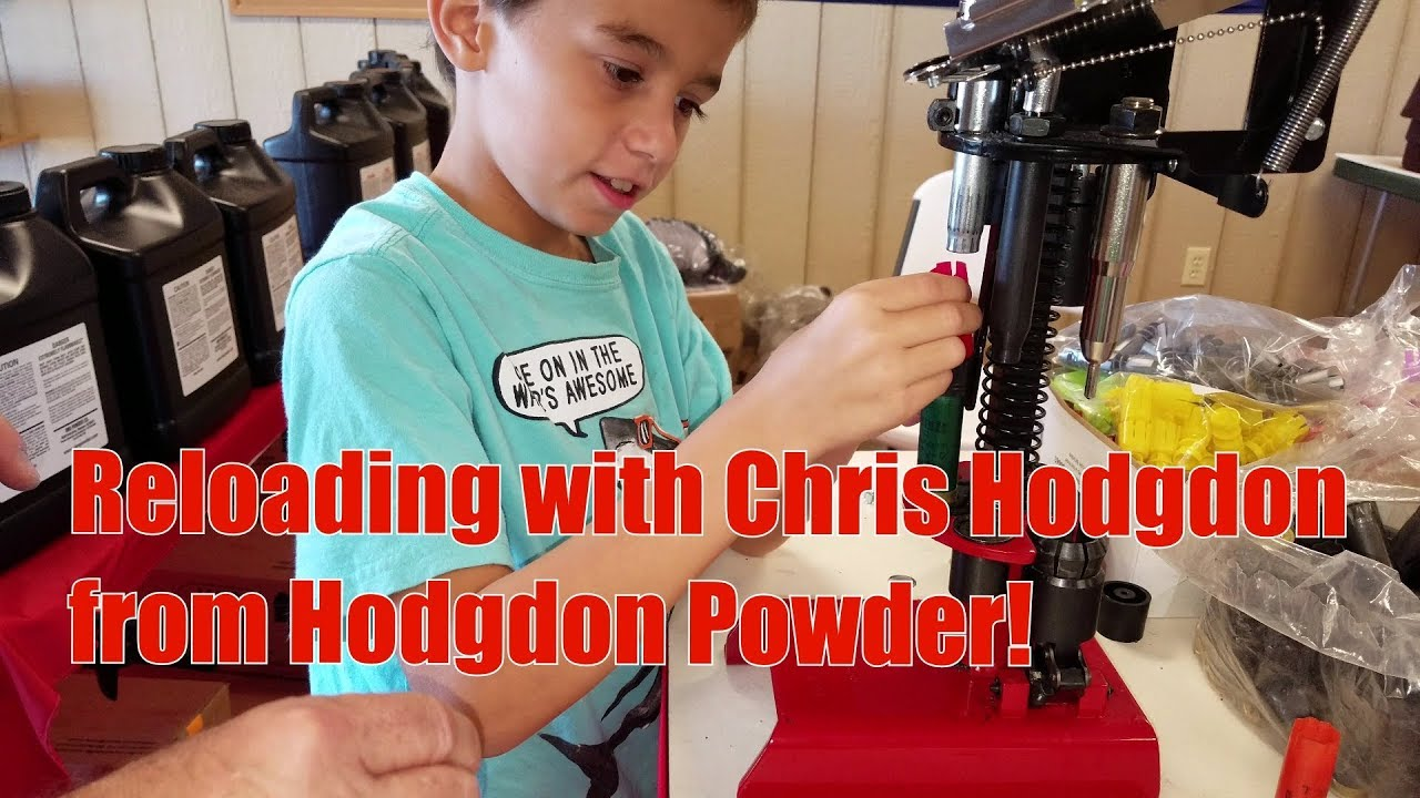 SCTP National 2018 Reloading with Chris Hodgdon from Hodgdon Powder