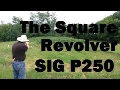 Square Revolver SIG P250