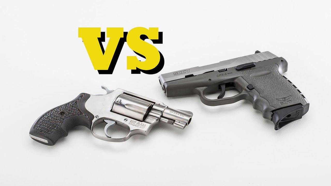 DAO Pistol VS Revolver #430