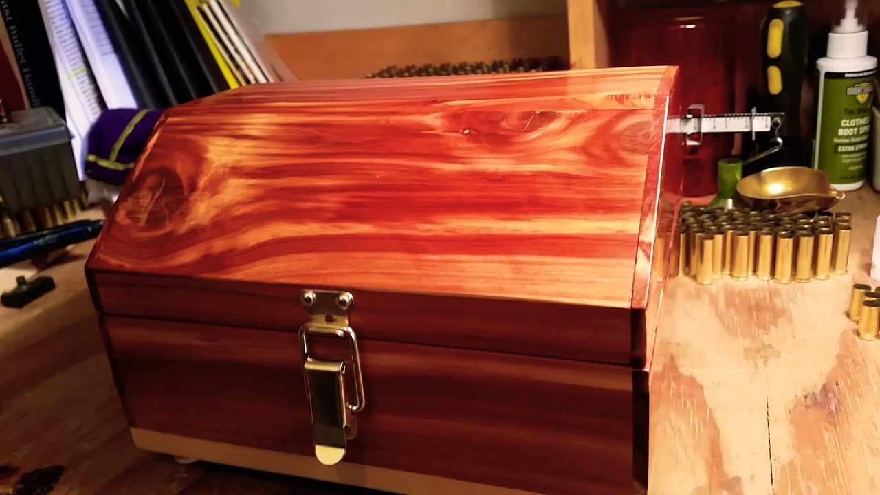 Cedar box finally done