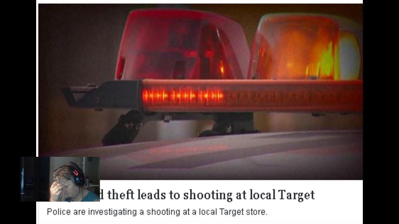 Target thief......  Again  What NOT to do as a gun owner