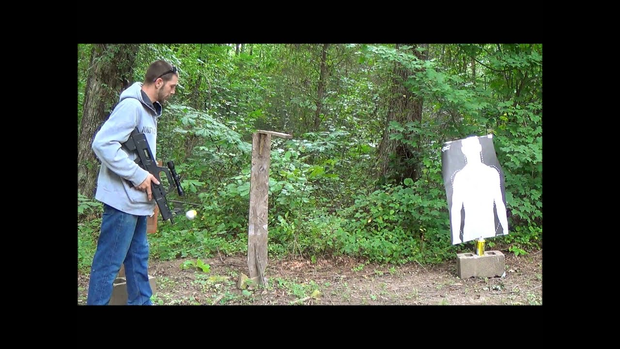 The GunFather: Trick Shot Tuesday- **Splitting a Swinging String**