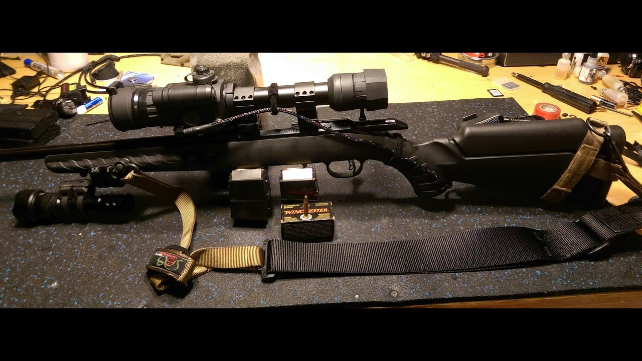 Sightmark Photon 4 6 X Digital Night Vision Scope Ruger All American 22 Mag WMR by Nito Mortera with