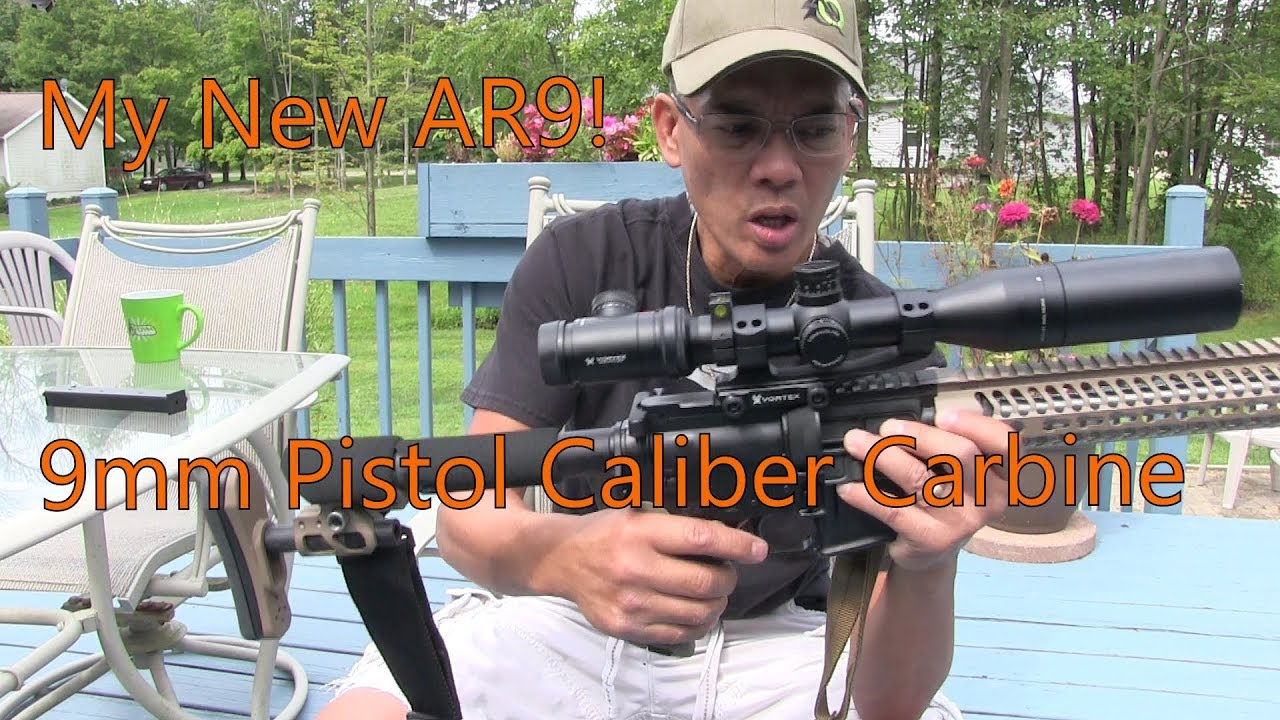 My New AR9 PCC Pistol Caliber Carbine Put Together Odin Works and JP Rifles Vortex Optics