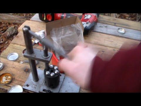 PowderInc Cap and Ball Cylinder Loading Press