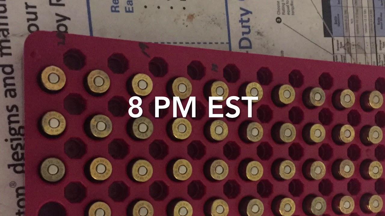 TRN live chat Sat 8 PM EST
