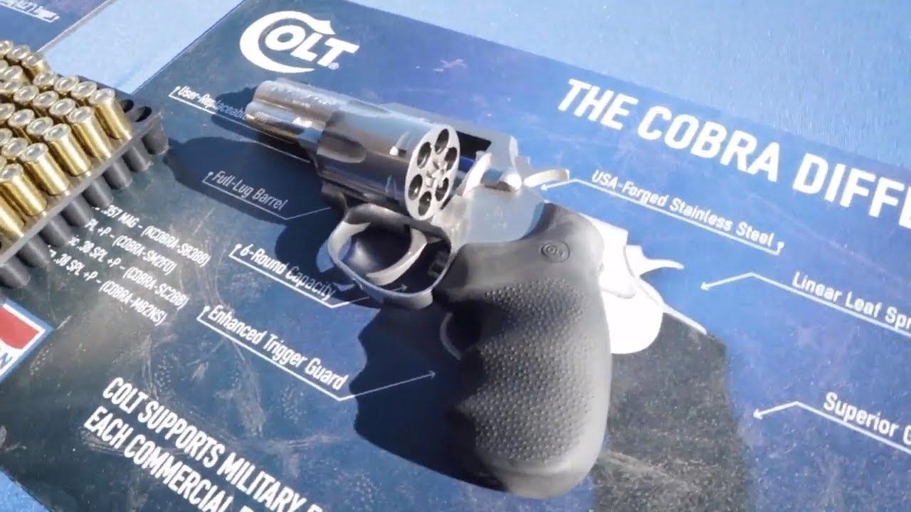 Colt King Cobra 357 Magnum Revolver SHOT Show 2019