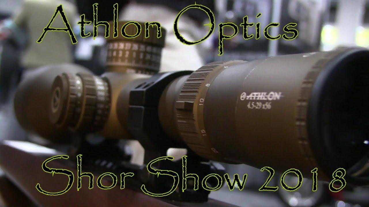 Shot Show 2018 Athlon Optics