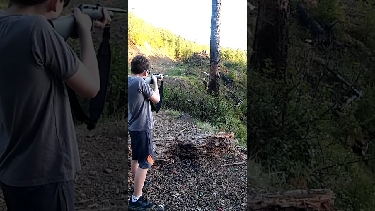 My Son's Second Day of Shooting