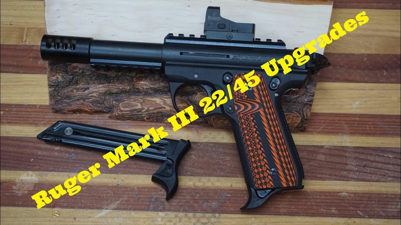 Ruger MK-III 22/45, Upgrades