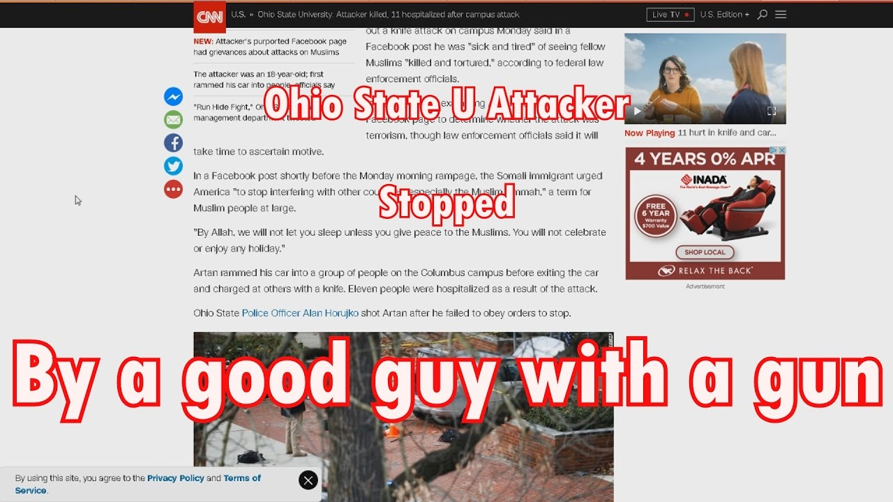 Ohio State Attack Prevented
