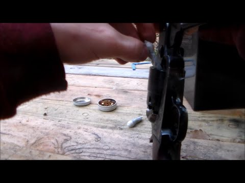 Loading Colt 1851 Cap and Ball with Paper Cartridges