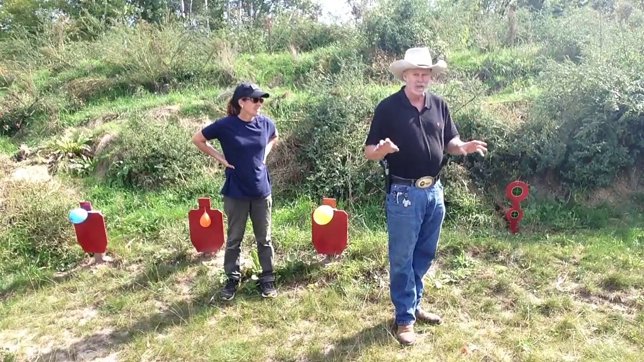 Mr. and Mrs. Holster shoot the Ruger Ranch 10/22