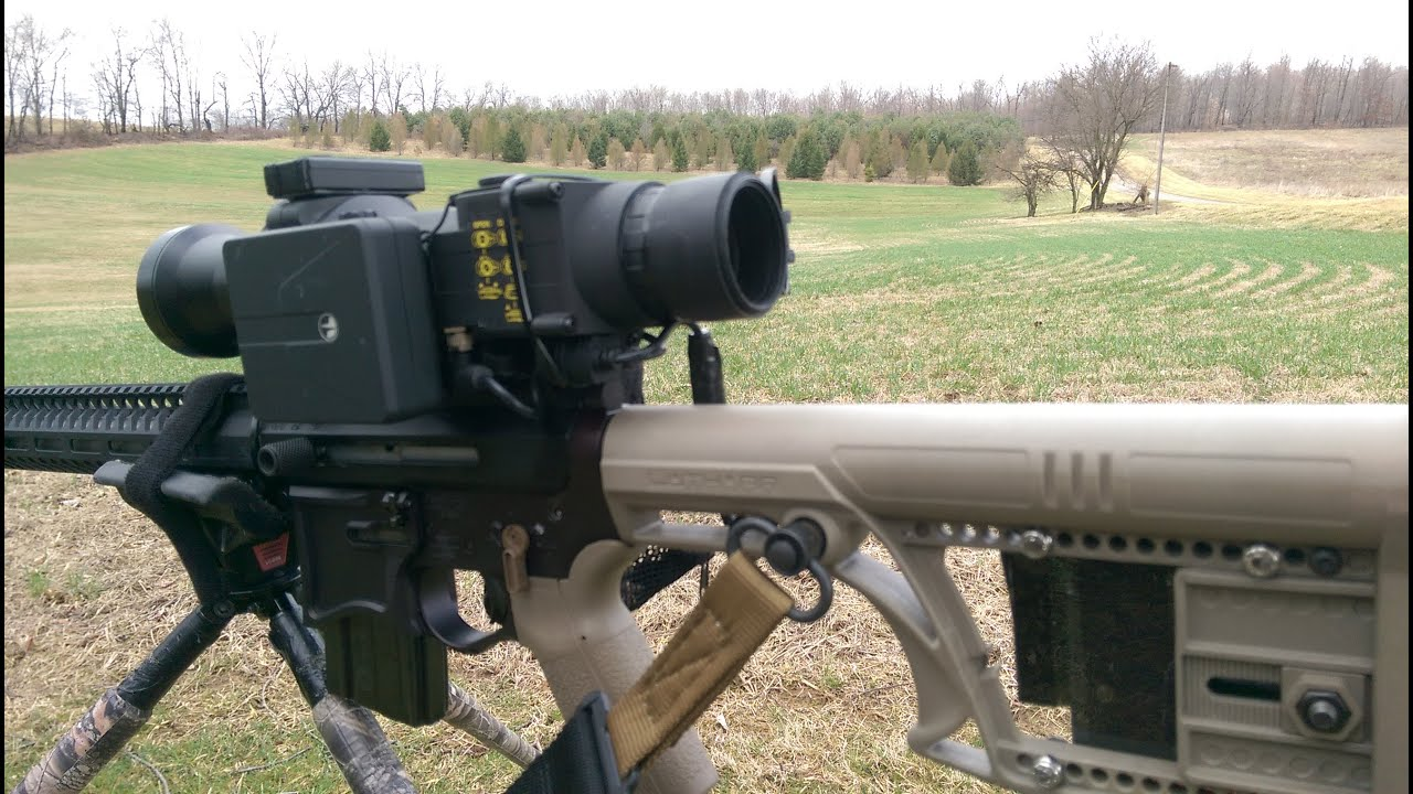 Pulsar Apex XD75 Thermal Scope 1st Sight In 6PDK